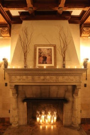 just what I needSnow Photography, Candles In Fireplaces, Fireplaces Mantels Wedding, Faux Fireplaces, Cozy Blankets, Blankets In Fireplaces, Good Book, Stone Fireplaces, Wedding Venues