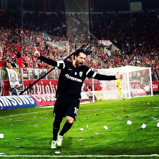 Το γκολ και ο πανηγυρισμός της σεζόν από τον #FacundoPereyra #PAOK