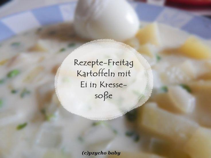 Rezepte-Freitag: Kartoffeln mit Ei in Kresse-Soße