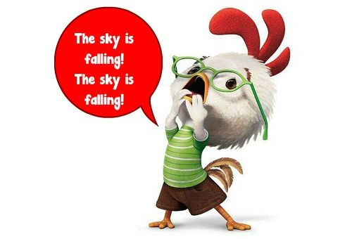 Slowly, sanity is returning as witnessed by this pragmatic editorial on Sept 2nd: The world's loudest climate-clucking Chicken Littles foresee grain harvests diminishing, Greenland's ice sheet melt...