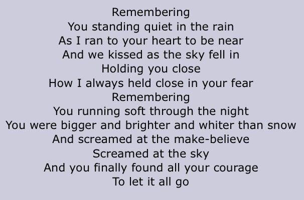 The Cure:Just Like Heaven Lyrics | LyricWiki | FANDOM ...
