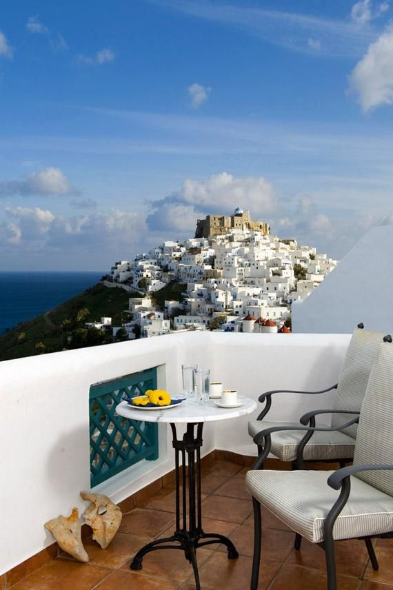"""A great day starts with a view like this… #Goodmorning from #Astypalea #Hellas #GREECE """""""" via @Amazing_Greece"""