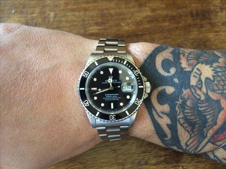 My favourite Watch  Rolex submariner 16800
