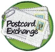 Get the girls involved in a postcard exchange with friends around the country of USA. Put a sticker on the map, from where each postcard comes from!