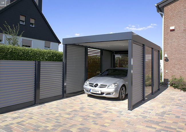 installation designo carport abri voiture en france l univers de la maison deco terrasse. Black Bedroom Furniture Sets. Home Design Ideas
