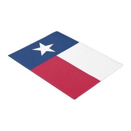Flag of Texas Lone Star State Doormat - home decor design art diy cyo custom