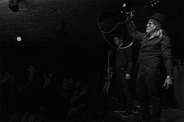 Elliott Murphy & Olivier Duran Jamboree Barcelona 20/01/2015 ph: Just García