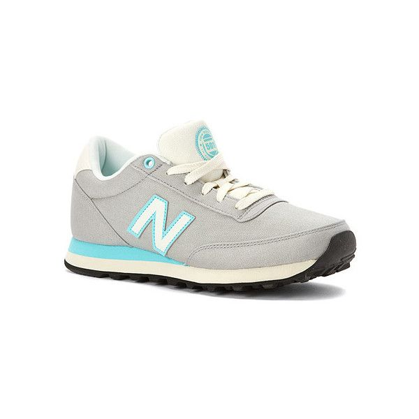 New Balance 501 Rugby Sneaker (€63) ❤ liked on Polyvore featuring shoes, sneakers, grey, new balance shoes, sports trainer, grey sneakers, lightweight sneakers and new balance
