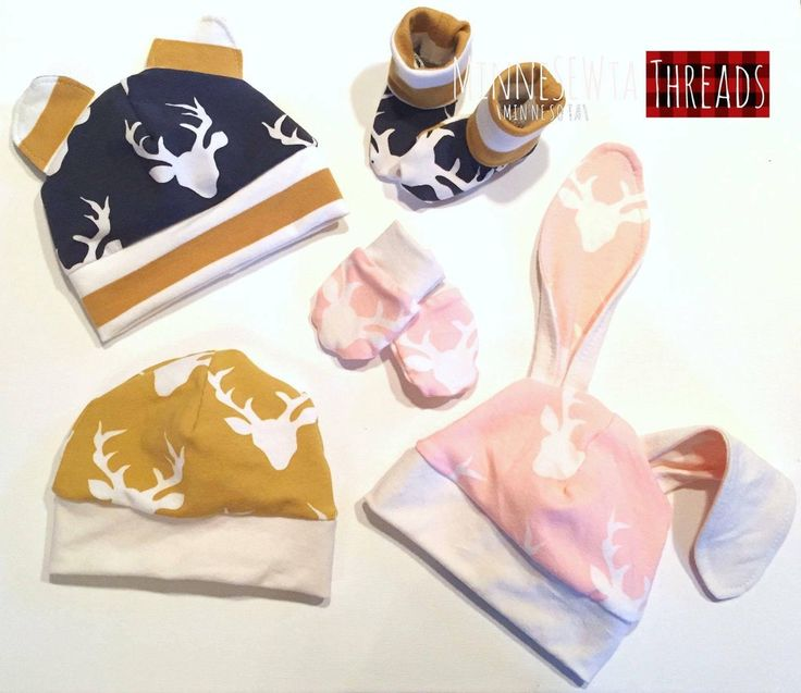 """Baby Basics """"Bringing Home Baby"""" Series PDF (Hat, Mittens, Booties)"""