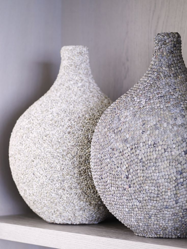 Piet Boon Styling by Karin Meyn | Textured vases