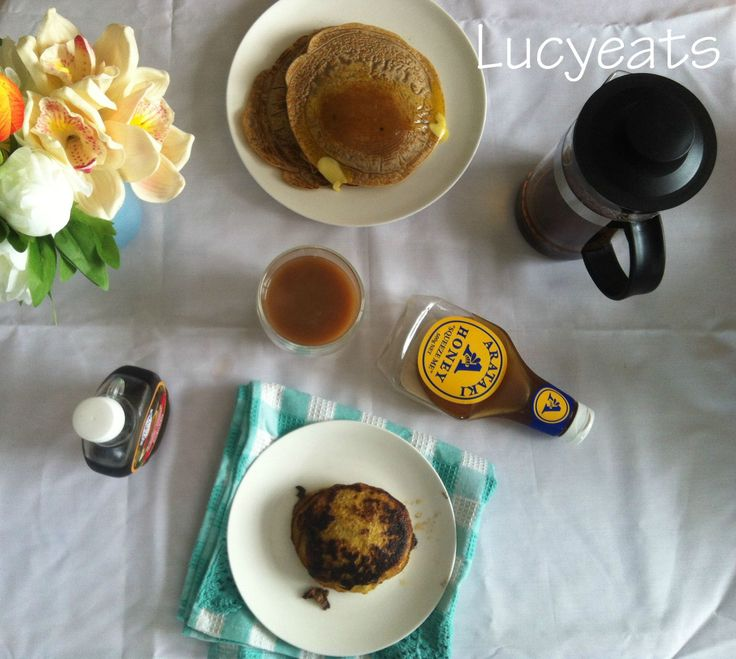 Lucy eats: Two Recipes for Pancake Day. Two Ingredient Pancakes and Chai Pancakes