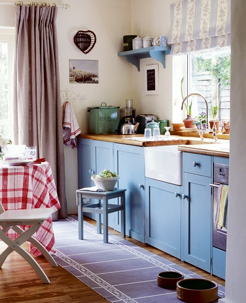 Dream Kitchens Nl: 17 Best Ideas About Blue Country Kitchen On Pinterest