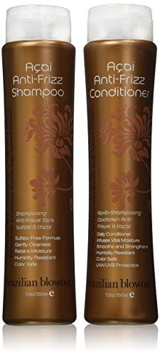 Best price on Brazilian Blowout Anti-Frizz Shampoo & Conditioner 12-ounce bottles // See details here: http://makeupproductsmart.com/product/brazilian-blowout-anti-frizz-shampoo-conditioner-12-ounce-b (Best Shampoo For Frizz)
