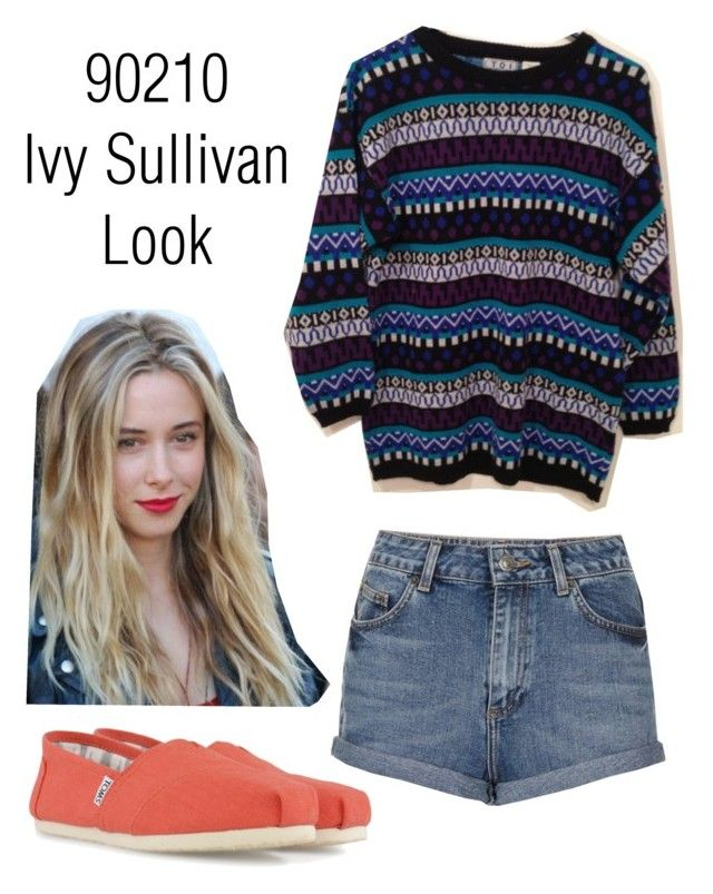 """Ivy Sullivan Inspired Look"" by alexonbute ❤ liked on Polyvore featuring Topshop and TOMS"