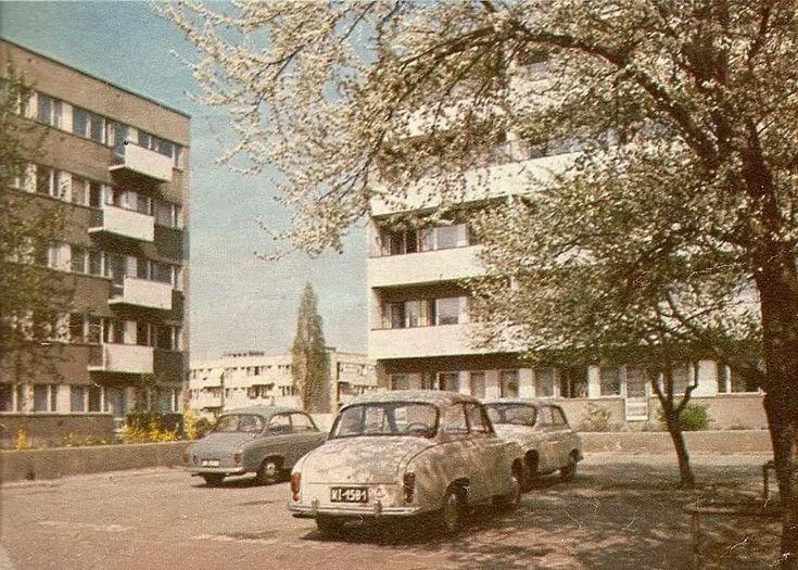 Halina Skibniewska. Osiedle WSM Sady Żoliborskie, Warszawa, 1958-1972