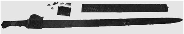 Sassanid sword
