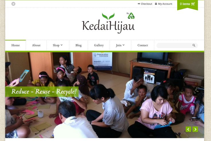 http://www.kedaihijau.com/ Jakarta local community upcycle shop