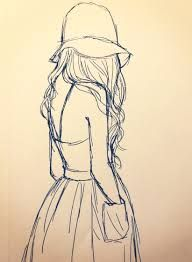 tumblr girl drawing fashion – Google Search …