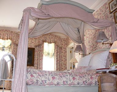 Canopy Bed In Master Bedroom In Charlotte S Townhouse