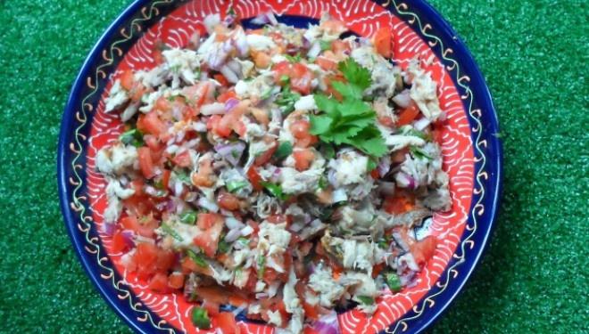 Mexicaanse makreel salade