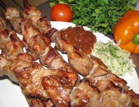 рецепт свиного шашлыка промаринованного в кефире