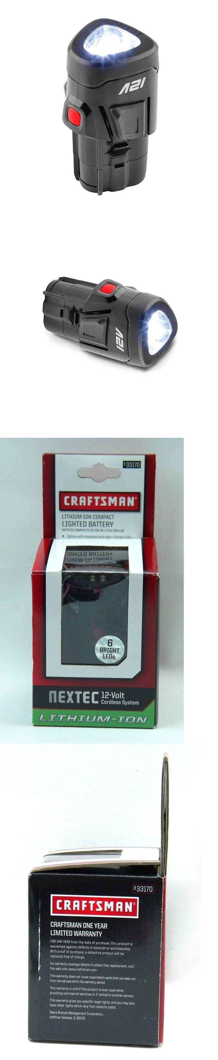 Batteries and Chargers 122840: Craftsman Lithium-Ion Compact Lighted Battery *Nextec 12 Volt* (9-33170) (D1) -> BUY IT NOW ONLY: $32.49 on eBay!