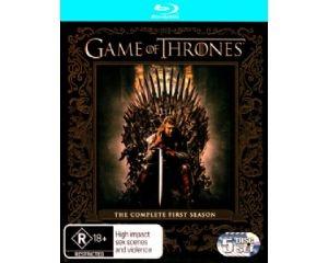 Game of Thrones: The Complete Season 1 BluRay (5 Discs)