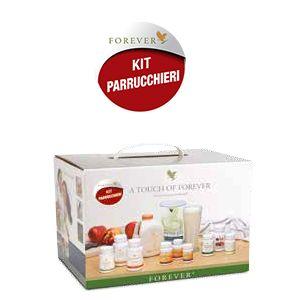 KIT PARRUCCHIERI 9 prodotti + accessori Il kit ideale per proporre l'attività ai parrucchieri, una selezione di prodotti per il benessere dei capelli, più sani e luminosi con Forever.