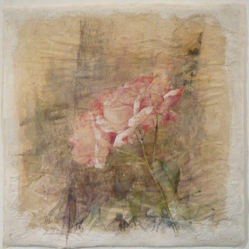 Pedro Cano(Spanish, b.1944) Rosa 2010 watercolor
