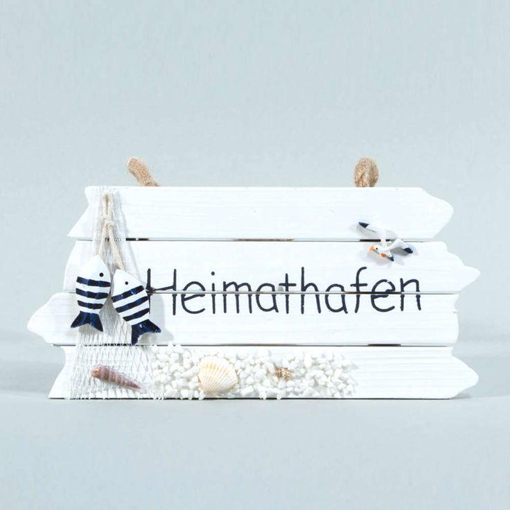 Heimathafen HOLZSCHILD Deko >>