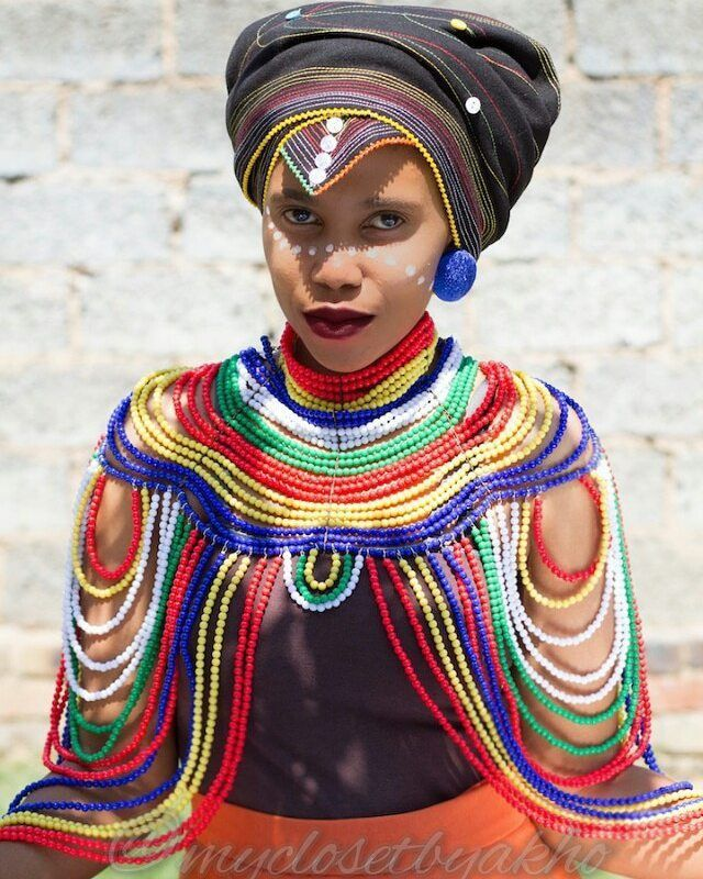 Beautiful young Xhosa Woman.