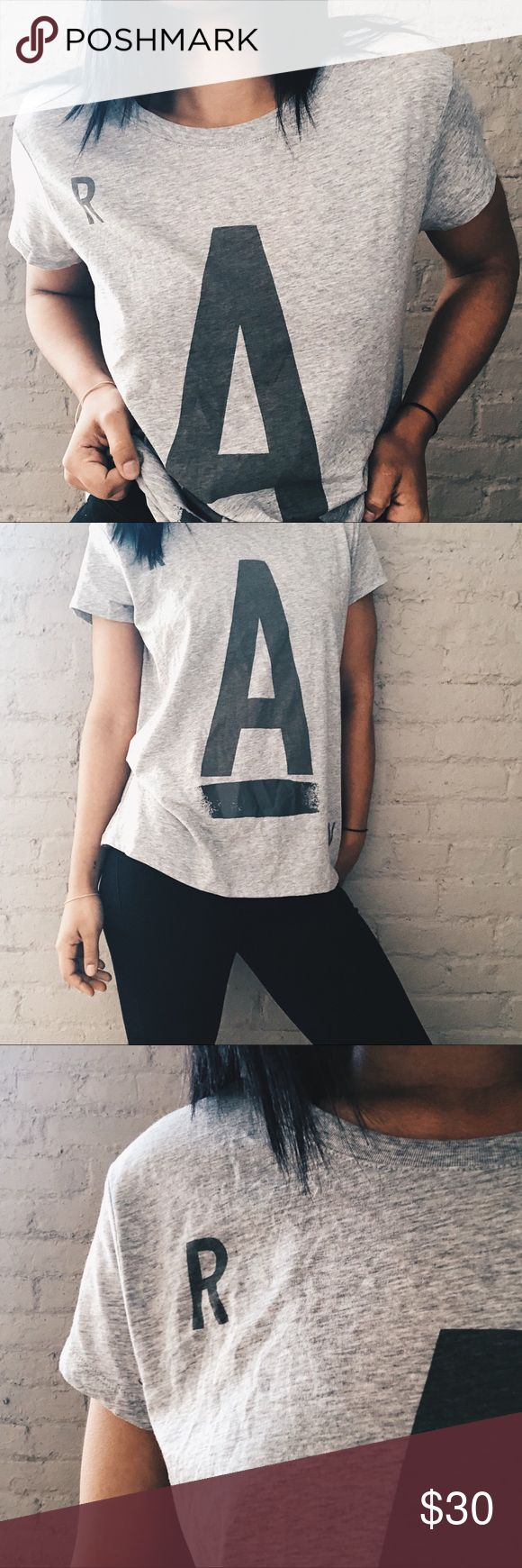NWT Gray Straight Fit G-Star Raw T-Shirt ✨ Gray Straight Fit G-Star Raw T-Shirt! Women's — New with tags and ready for your closet! Hurry up and snag this perfect Tee! ✨✨ G-Star Tops