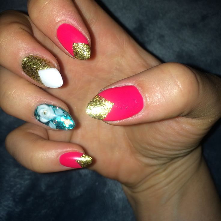 The 15 best Gel Nail Designs for Summer 2014 images on Pinterest ...