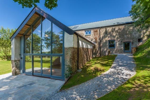 Madley, Hereford; £1.115 million guide price  The best thing about barn conversions is often the opportunity for large, high windows which modernise the home and let in plenty of light. Jackson-Stops & Staff