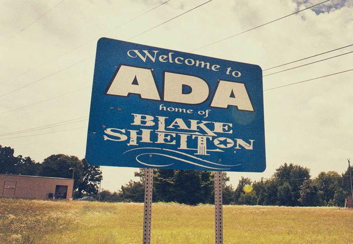 Welcome to ADA Oklahoma :: Home of Blake Shelton