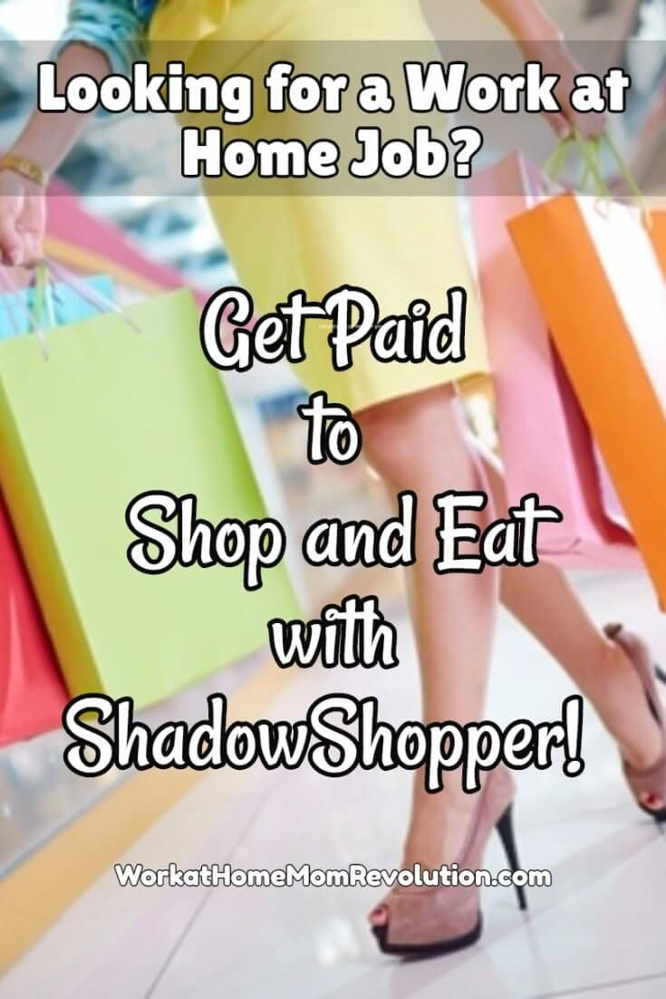Mystery shopping is a great way for moms to make extra money! ShadowShopper is the most effective way to find jobs in your own hometown. Try it for free! Awesome way to work from home. If you're a work at home mom looking to bring in some additional income, this is a great way to do i!