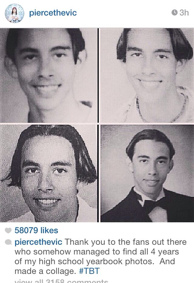 Vic Fuentes In High School 210 best images about ...