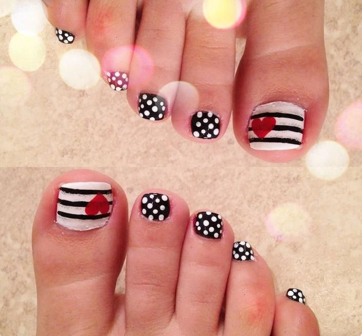 Deco Ongle Pied KN45