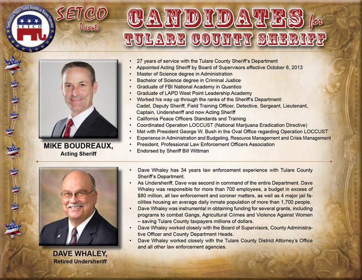 2014 Tulare County Sheriff Race