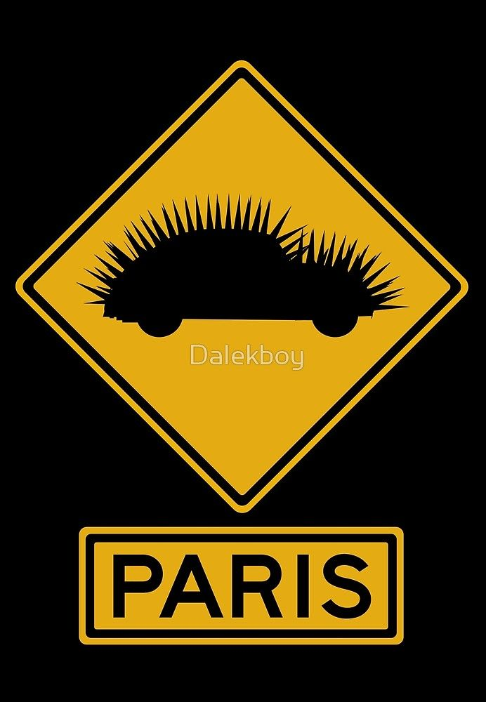 Cars That Ate Paris Road Sign by Dalekboy australian aussie