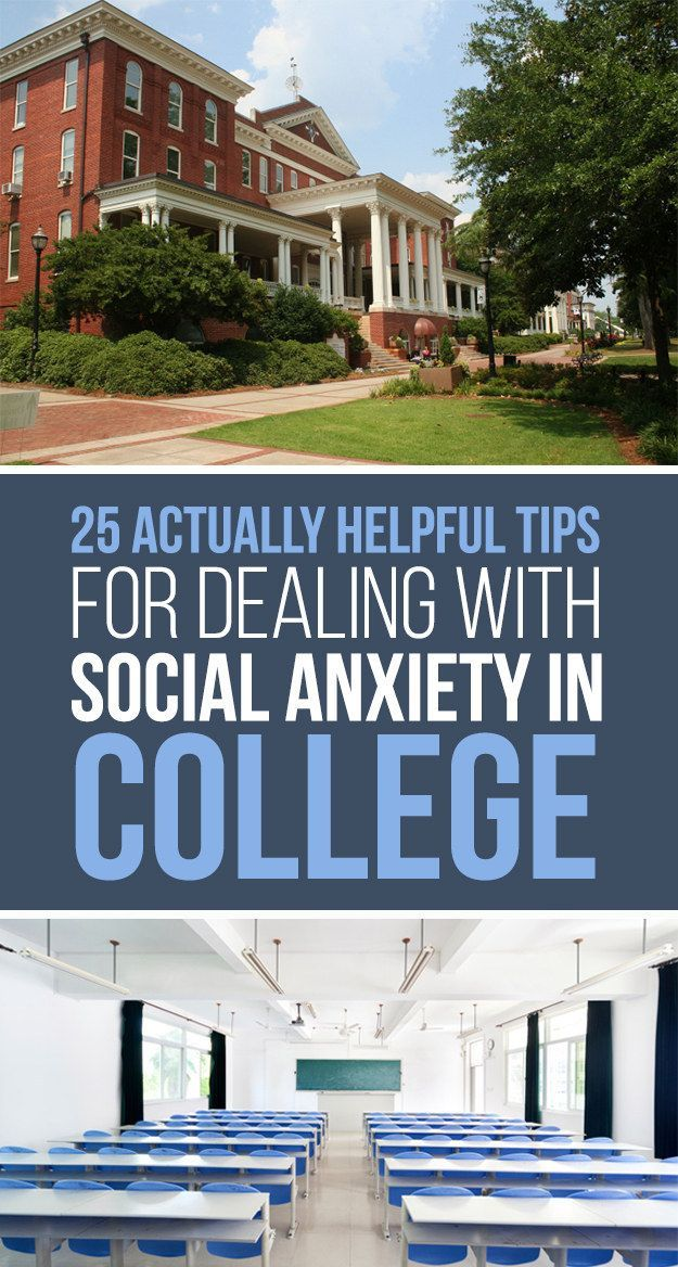 25 Actually Helpful Tips For Dealing With Social Anxiety In College (scheduled via http://www.tailwindapp.com?utm_source=pinterest&utm_medium=twpin&utm_content=post113259921&utm_campaign=scheduler_attribution)