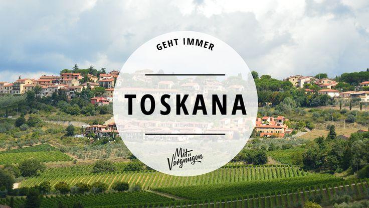 In München daheim, in Italien zu Hause. Die Toskana ist mit ihrer Kunst, Kultur und dem sagenhaftem Essen unser neuer liebster Zufluchtsort in Bella Italia.