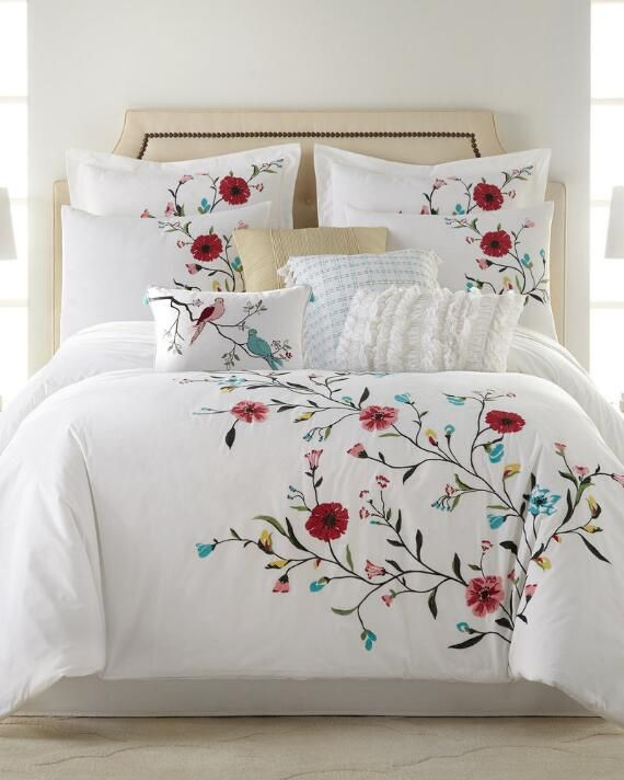 Nina Home by Nina Campbell 3 Piece Channing Comforter Set | King |  polyester cotton