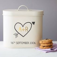 Do you know which wedding anniversary is for Tin?  This is the perfect gift for the Tenth Wedding Anniversary.  Tin Wedding Anniversary Gift