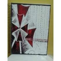 Caderno De Anime Resident Evil- 10 Materias - 200 Folhas