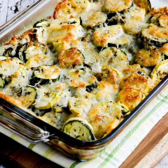 Low-Carb Easy Cheesy Zucchini Bake has been the most popular zucchini recipe on my blog for years; it's the perfect way to cook zucchini!