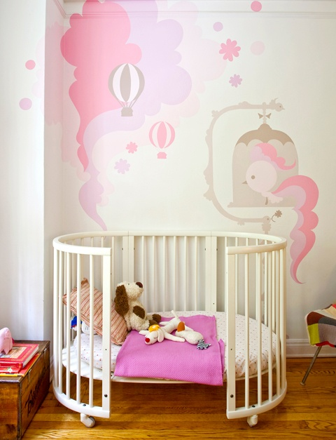 Ami Sumau0027s Colorful Wall Murals. Baby Girl ...