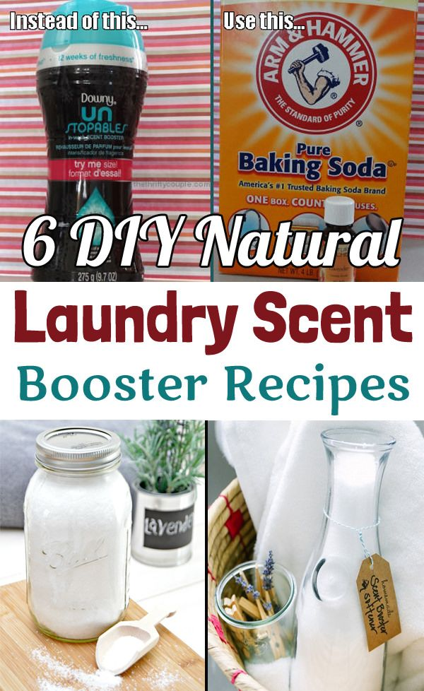 6 Diy Natural Laundry Scent Booster Recipes With Images