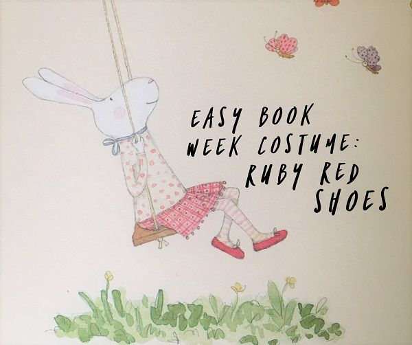 Easy Book Week costume - Ruby Red Shoes