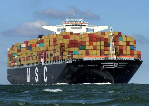 Big Container Shipping